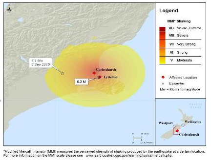 nz quake footprint