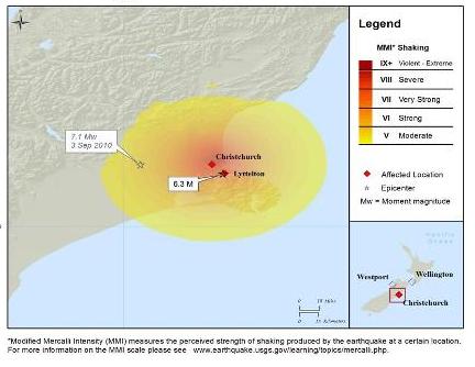 nz quake footprint