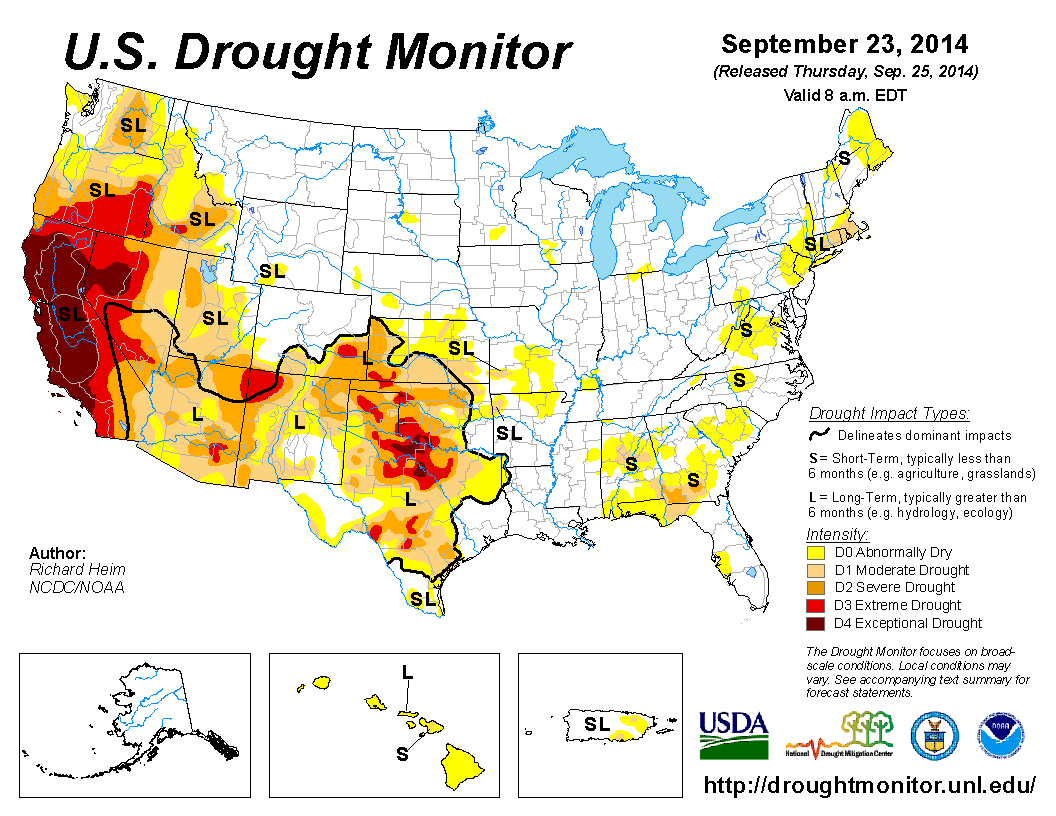 Drought Water Management and Business Risk Commentary and