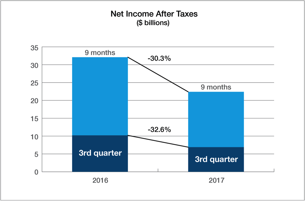 Net Income After Taxes Chart