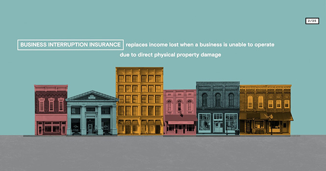 Business interruption insurance image